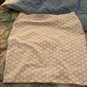 Leota Stretch white/black skirt